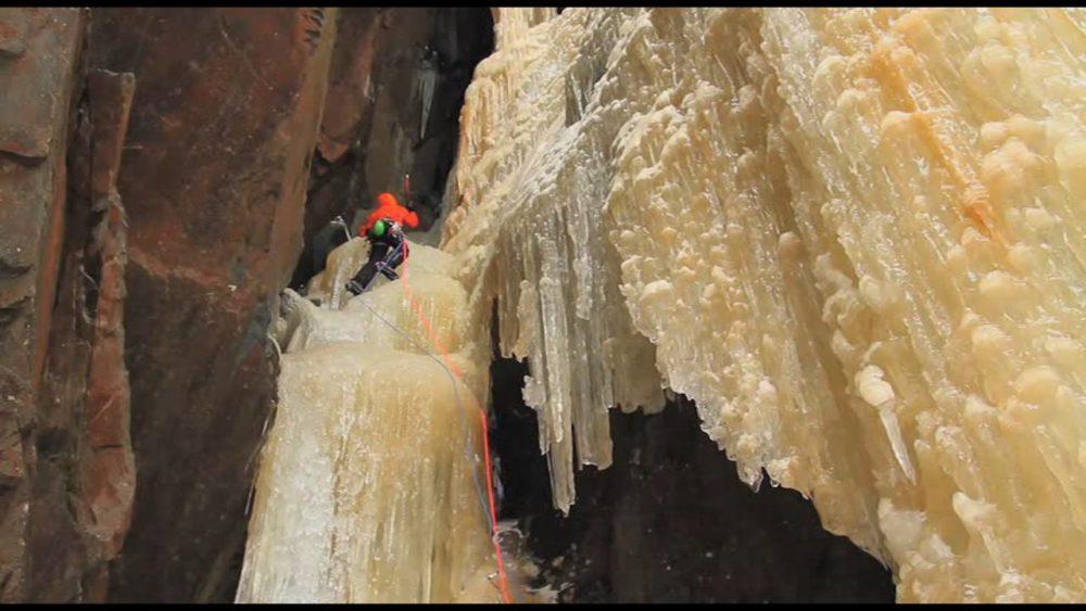 Escalada en hielo en Rjukan