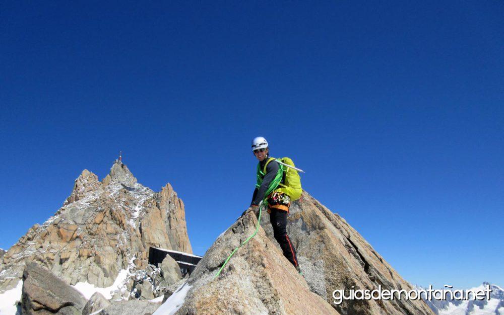 Actividad guiada en Alpes.
