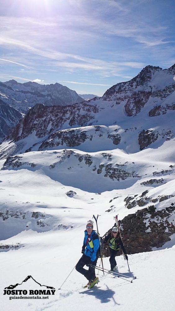 Esquiando durante el Puente Foral 2015