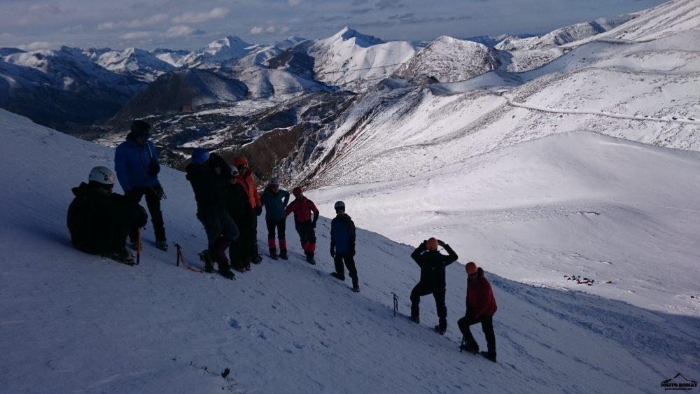 Curso Iniciación al Alpinismo N1 (EGAM). Peña Ubiña