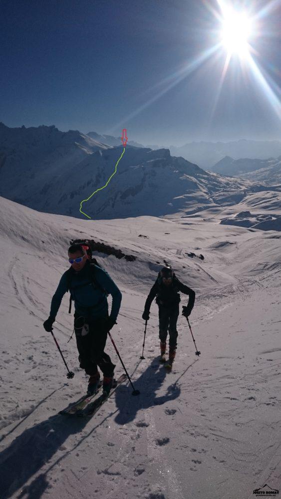 Ski travesia en el Portalet