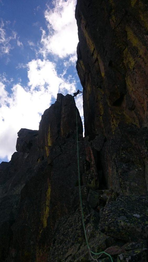 Escalada Sur-Este Directa al Midi