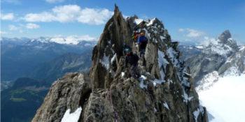 Aristas en Chamonix